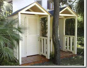 Cabine legno per spiaggia e piscine - Cabine in legno ...
