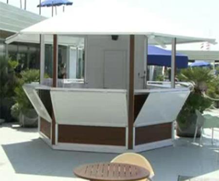 Chioschi e cabine in legno casette prefabbricate e for Cabine di legno di whitetail